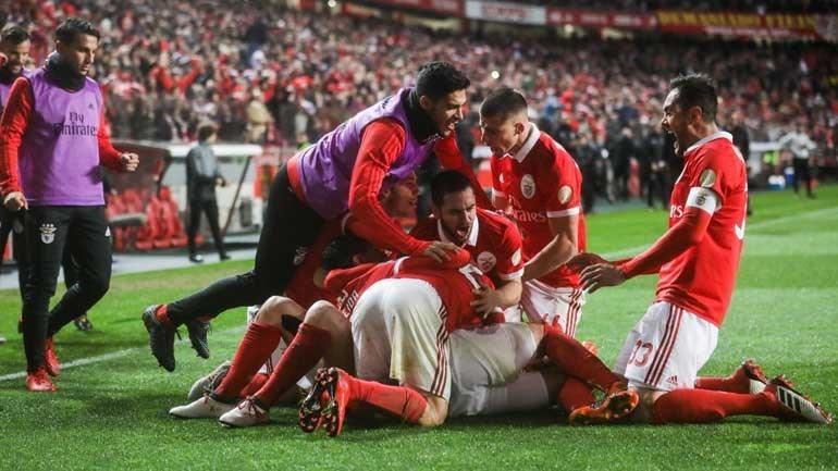 Do susto inicial à goleada: as melhores imagens do Benfica-Rio Ave
