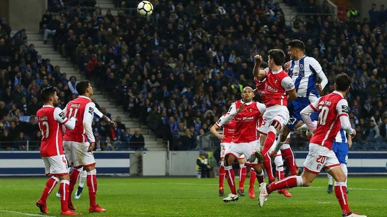 A crónica do FC Porto-Sp. Braga (3-1): dragão voa mais alto
