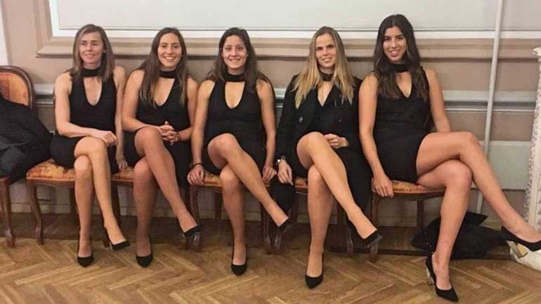Tenistas portuguesas espalham charme na Estónia