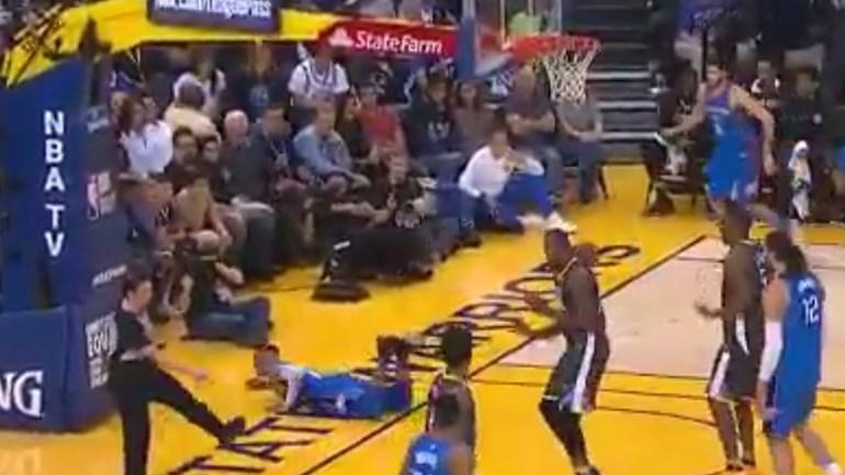 Westbrook, o pioneiro dos 'mergulhos' na NBA... inadvertidamente