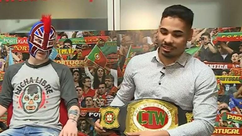 """O """"Pai Grande"""" do wrestling português"""