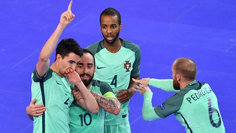 Portugal está na final do Campeonato da Europa de futsal