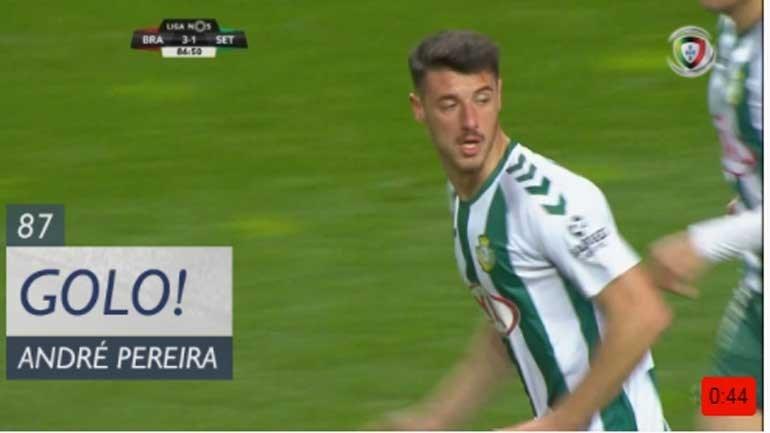 André Pereira reduziu em Braga