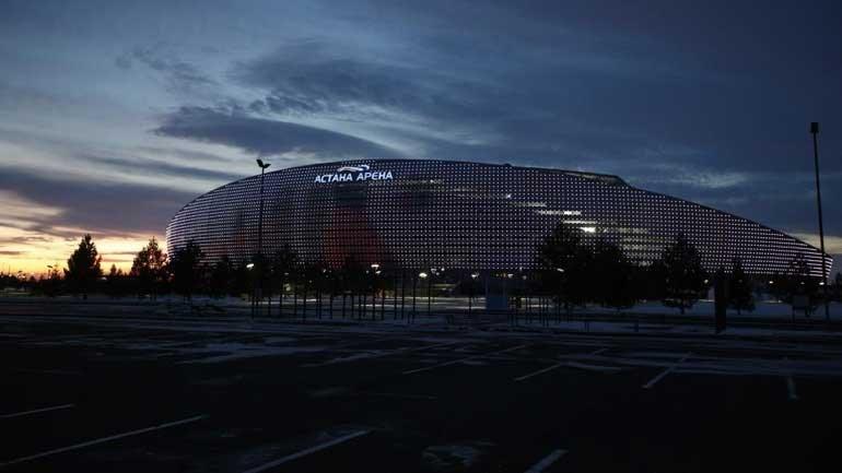 Francês Ruddy Buquet apita o Astana-Sporting