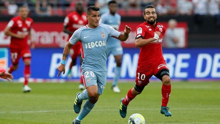 Mónaco segura segundo lugar na Liga com vitória sobre Dijon — França