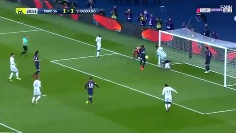 Neymar 'corrigiu' erro e deu a cambalhota em Paris