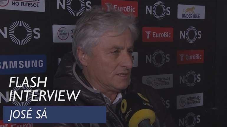 Adjunto do Tondela: «Só estou aqui porque o Sporting já marcou...»