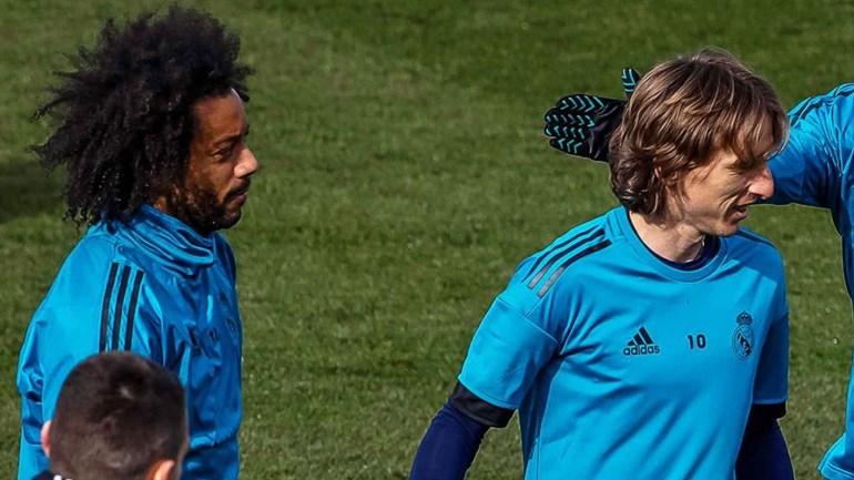 Real Madrid confirma lesão de Marcelo e Luka Modric
