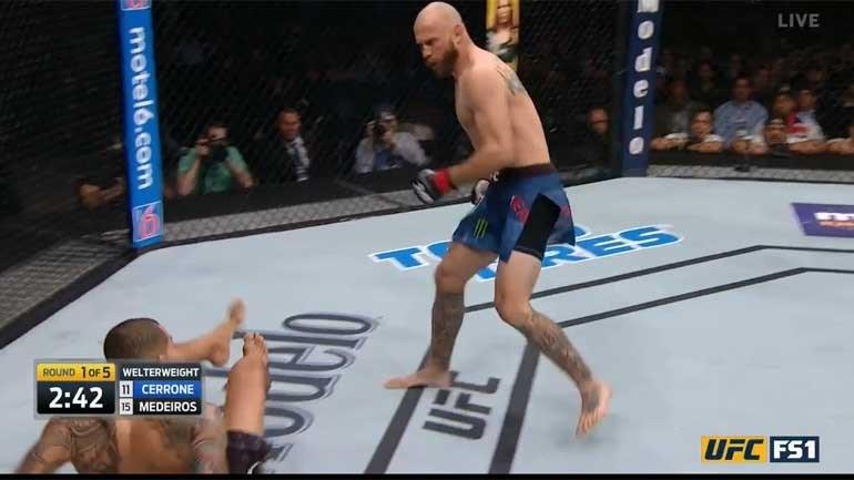 UFC: Norte-americano mostra que aqui... não vale tudo