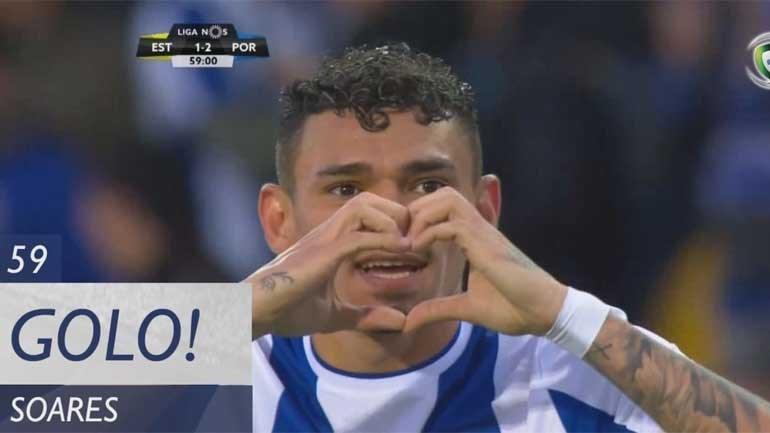 Soares completou cambalhota relâmpago do FC Porto na Amoreira