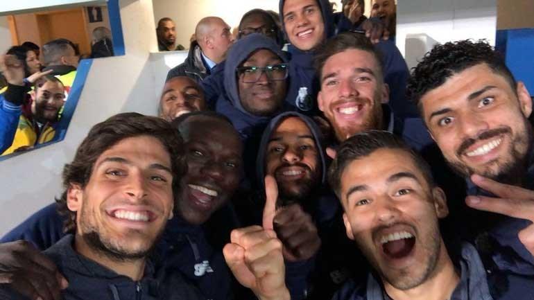 A festa do FC Porto no Estoril