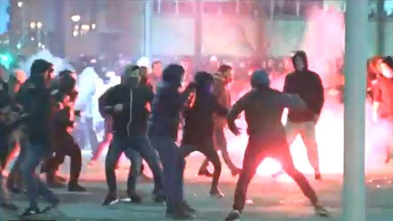 Divulgadas novas imagens dos confrontos em Bilbau