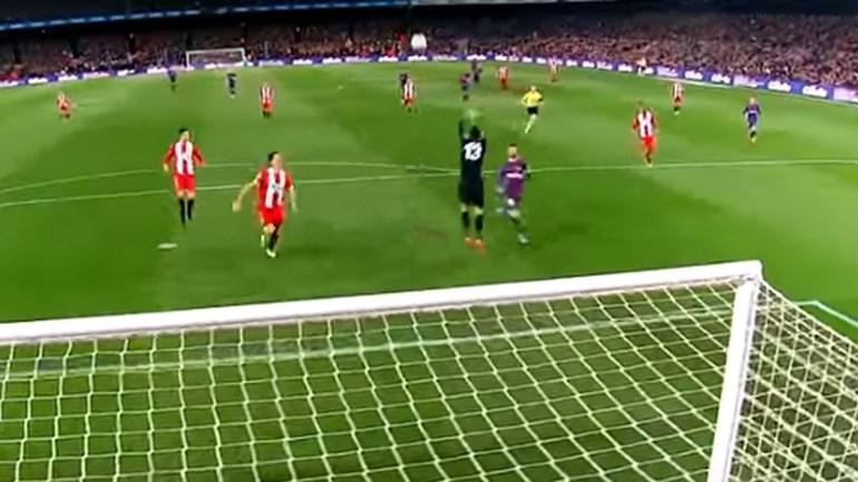 O Girona não é o Chelsea, mas Messi continua a ser... Messi
