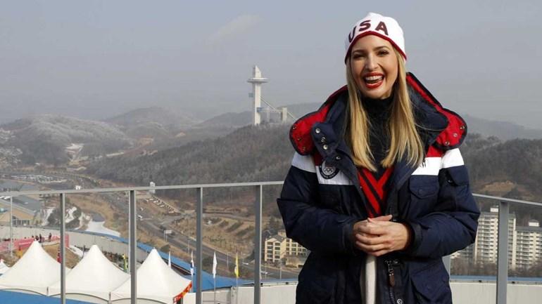 Ivanka Trump está na Coreia do Sul e dá que falar