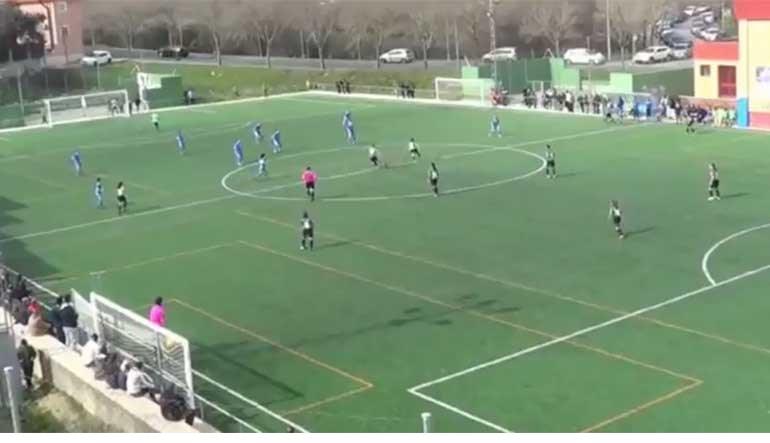 Jogadora do Málaga marca golaço aos 4 (!) segundos