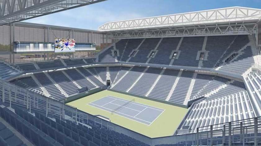 Open dos Estados Unidos vai introduzir sessões noturnas no novo estádio