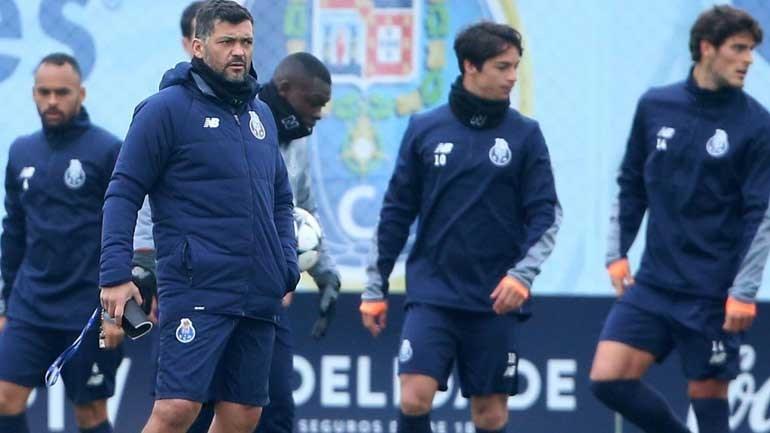 FC Porto já arrancou preparação para o dérbi com o Boavista