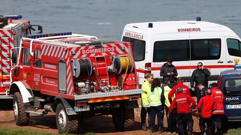 Sintra. Derrocada na praia da Ursa faz dois feridos graves
