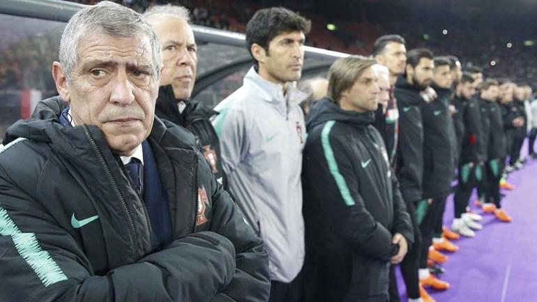 Portugal goleado pela Holanda em jogo de preparação
