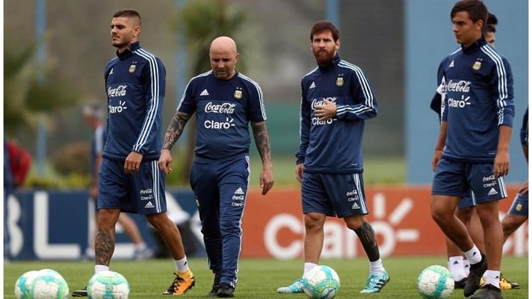 Argentina festeja envolvimento de Messi mesmo após humilhação