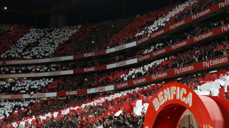Vitória derrotado por 2-0 frente ao Benfica