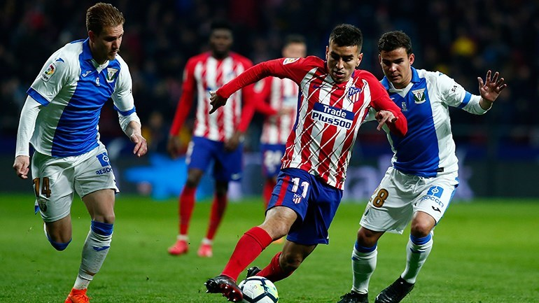 Atlético Madrid-Sporting, 2-0 — Resultado Final