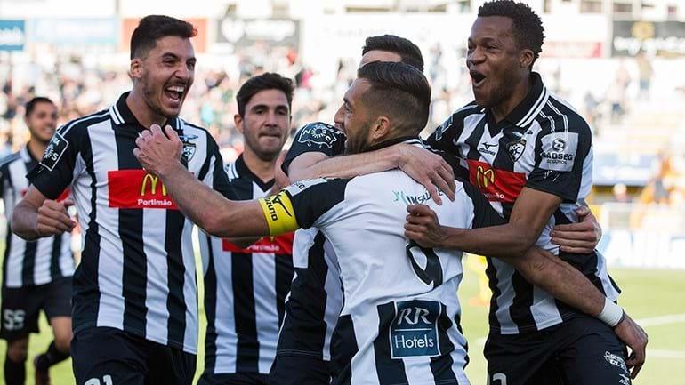 Portimonense-Moreirense, 4-3 — Resultado final