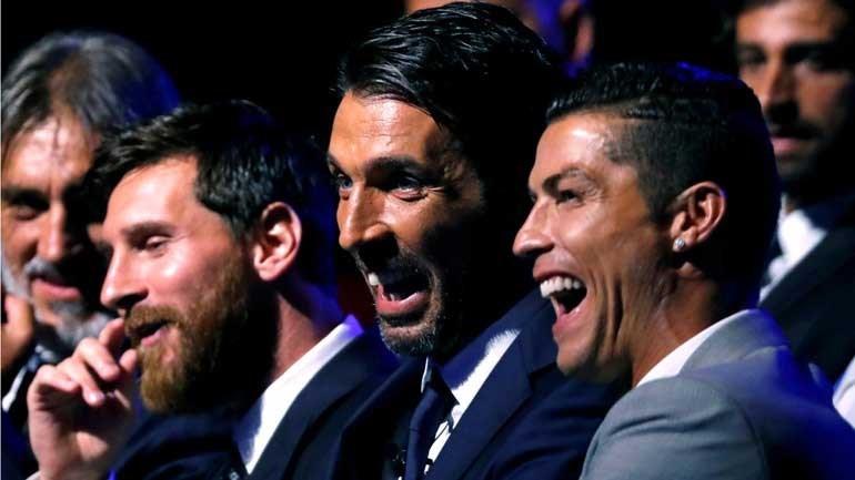 Reverenciado por gol antológico, Cristiano festeja recorde histórico — Liga dos Campeões