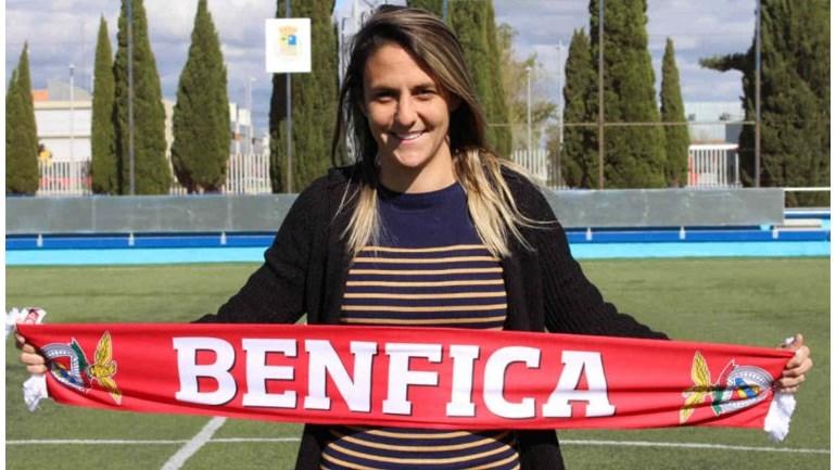 Darlene Souza confirmada como reforço do Benfica