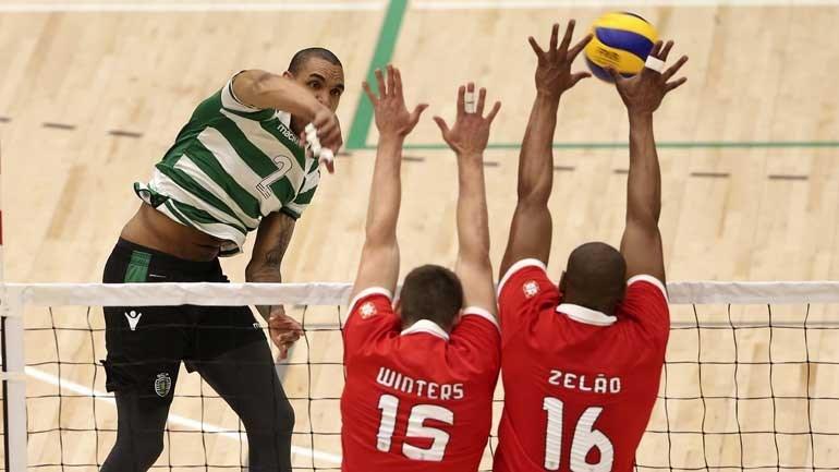 João Simões conquista título pelo Sporting — Voleibol