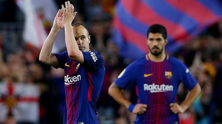Jornal espanhol afirma que Iniesta não irá para China