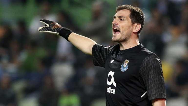 Iker Casillas confirma continuidade no FC Porto