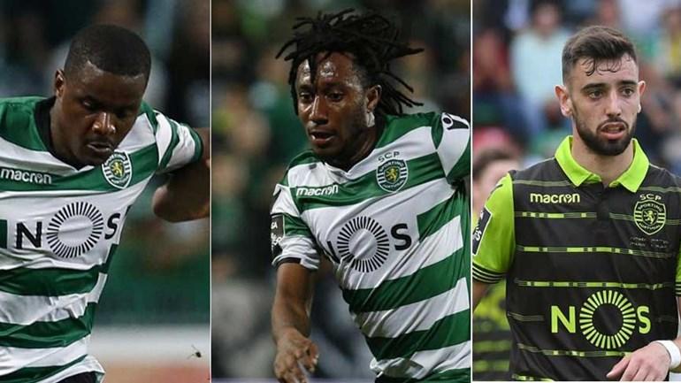 William, Gelson e Bruno Fernandes rescindiram contrato com o Sporting