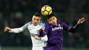Fiorentina-Inter: As emoções da liga italiana