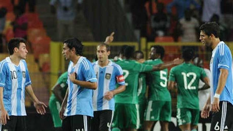 Argentina goleada pela Nigéria - Internacional - Jornal Record 41b1f41392bc3