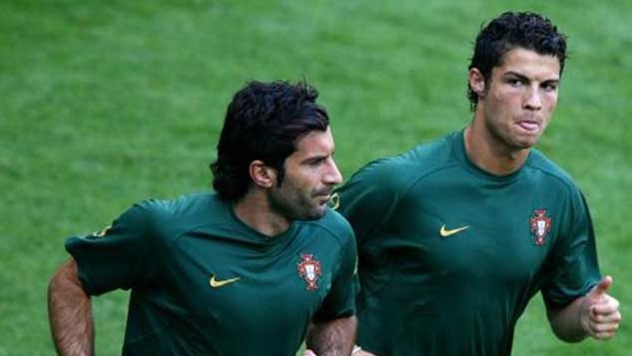 05ee774cd14 Figo  «Marca de Ronaldo é sinal das suas qualidades» - Seleções ...