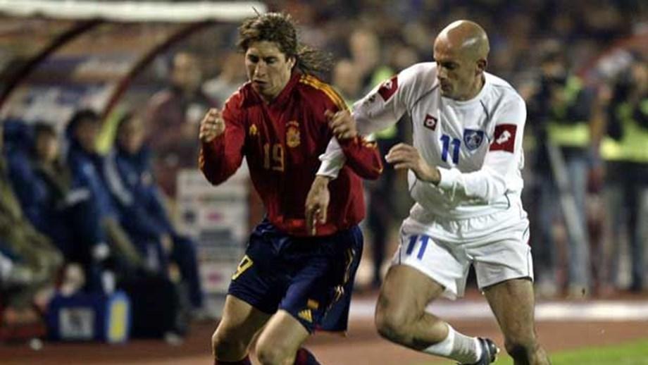 eb5a980dc7 Sergio Ramos no clube dos 100 com 26 anos - Espanha - Jornal Record
