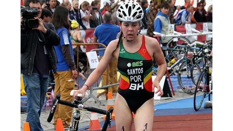 Resultado de imagem para triatleta Melanie Santos