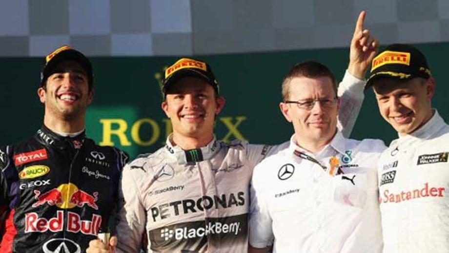 GP Austrália: Vitória para Rosberg - Fórmula 1 - Jornal Record