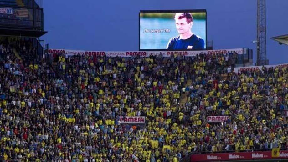 f46845106663ed Barcelona homenageia Vilanova antes do jogo com Getafe - Espanha ...