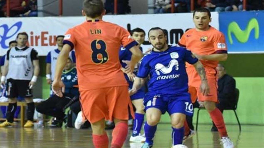 Ricardinho e Cardinal afastam Barcelona da Taça do Rei. Inter Movistar está NA  FINAL DA PROVA. Inter Movistar afasta Barcelona da Taça do Rei 954901a83e822