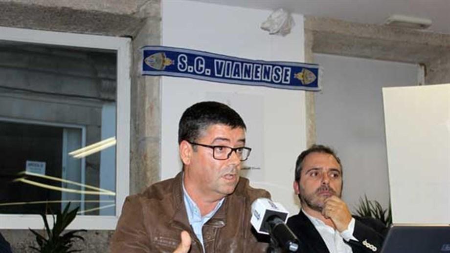 5cdf0aff3d2 Rui Pedro Silva é o novo presidente do Vianense - Campeonato de ...