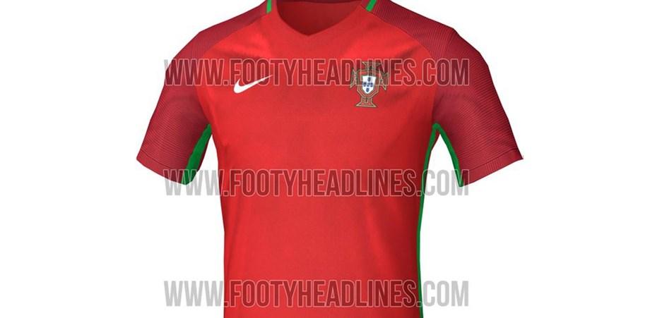 1cb24f4418 Será esta a camisola de Portugal no Euro 2016  - Fotogalerias ...