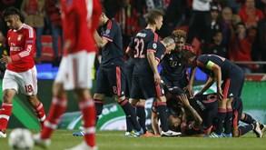 Bayern espera que a 'bênção' do eliminado Benfica continue