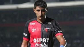 Alan Ruiz lesionou-see falha próximo jogo do Colón