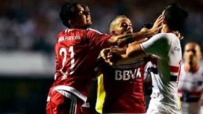 Confusão à sul-americana no São Paulo-River Plate