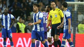 Soares Dias a apitarFC Porto: derrotas, só como Benfica