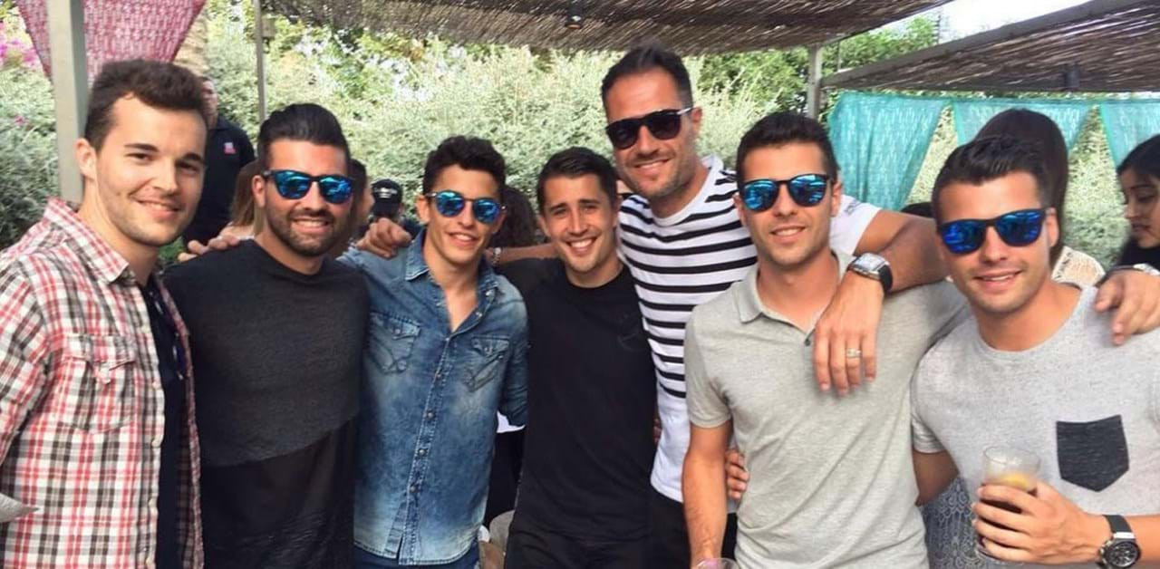 amigos en barcelona