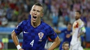 Perisic já é... o Hulk croata