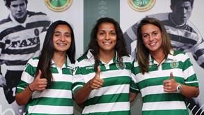 Sporting apresenta mais três jogadoras